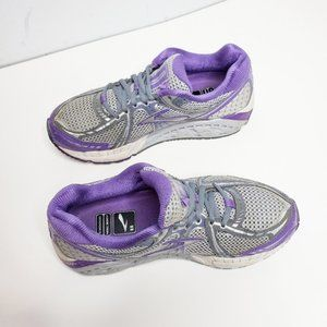 Brooks Addiction Mogo Purple Gray Shoes Sneakers